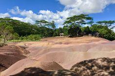Siebenfarbige Erde in Chamarel auf Mauritius: Reisebericht Mauritius, Villa, Beach, Water, Outdoor, Color, Travel Report, Earth, Traveling