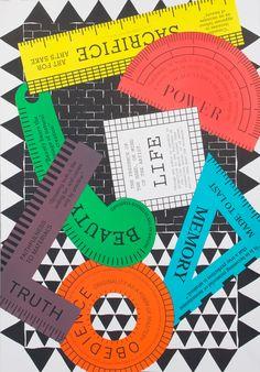 richard niessen - typo/graphic posters