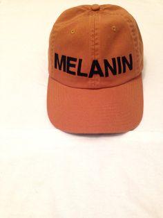 Melanin baseball cap (mustard)
