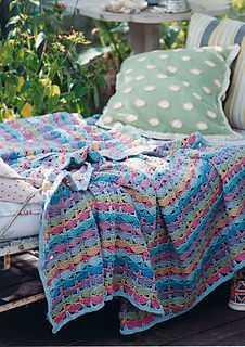 Ravelry: Picnic Blanket pattern by Marie Wallin Rowan Knitting, Rowan Yarn, Free Knitting, Cotton Crochet Patterns, Knitting Patterns, Blanket Patterns, Craft Patterns, Crochet Home, Free Crochet