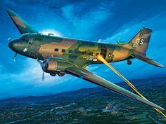 50 Years of C-47 Gunship conversions, Spooky man hunts from Vietnam to Colombia - By Hans Wiesman - http://www.warhistoryonline.com/guest-bloggers/50-years-of-c-47-gunship-conversions-spooky-man-hunts-from-vietnam-to-colombia-by-hans-wiesman.html