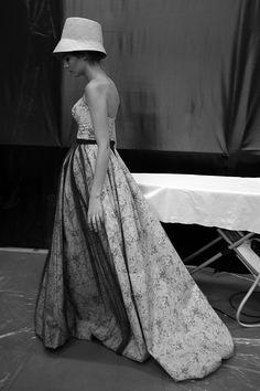 Ulyana Sergeenko spring/summer 2012 – a backstage point of view