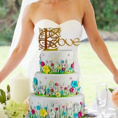 """Celtic, Game of Thrones, Lord of the Rings, """"Love"""" Wedding Cake Topper - YourPerfectFinish Heart Wedding Cakes, Cool Wedding Cakes, Wedding Cake Designs, Wedding Cake Toppers, Viking Wedding, Celtic Wedding, Irish Wedding, Wedding Costs, Wedding Tips"""
