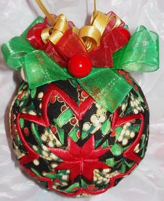 Beautiful quilted ornament