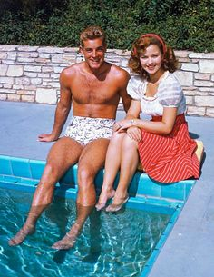 Guy Madison & Shirley Temple