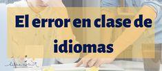 El error en clase de idiomas