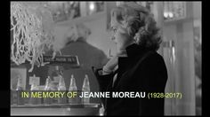 In memory of Jeanne Moreau (1928-2017).    A video tribute to the intelligence and humility of her acting, made on the morning of the news of her death.    Featuring a film sequence from ASCENSEUR POUR L'ÉCHAFAUD/ELEVATOR TO THE GALLOWS (Louis Malle, 1958, with music by Miles Davis), and segments from an interview Jeanne Moreau participated in with Charlie Rose in 2002 (online here: https://youtu.be/Q1MIYbuV6fk).