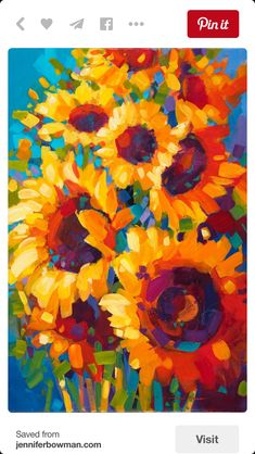 What is Your Painting Style? How do you find your own painting style? What is your painting style? Simple Acrylic Paintings, Acrylic Art, Art Paintings, Acrylic Flowers, Portrait Paintings, Sunflower Art, Sunflower Paintings, Beginner Painting, Painting Inspiration