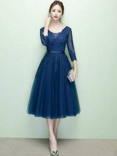 childrens royal blue short sleeve dresses 7-16 - Google Search