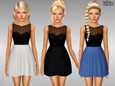 Roma Dress by Margies Sims - Sims 3 Downloads CC Caboodle