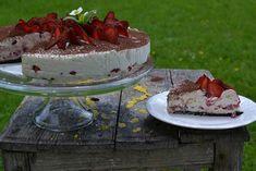 Nepečený jahodový dort od Elly