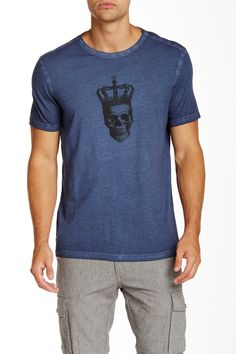 Star USA By John Varvatos | Crowned Skull Graphic Tee | Nordstrom Rack