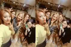 #NewSun from Music Bank Twitter update with others