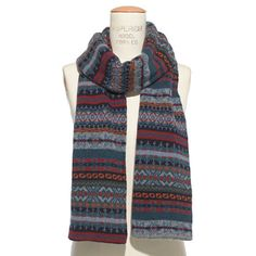 Barbour® Melrose Fair Isle Scarf - Big Splurges - GiftGuide2013_Mobile - Madewell