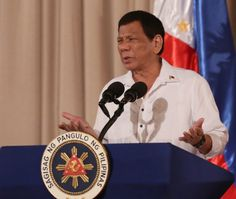 Duterte said the country wouldn't need the high-powered fighter jets that the US government recently dangled to him, saying all he needed were planes to help fight the insurgents.