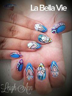 Tiger Nails Tiger Nails, Hair Beauty, Cute Hair