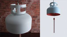 Recycled Gas Tank Becomes A Lamp | Gizmodo Australia