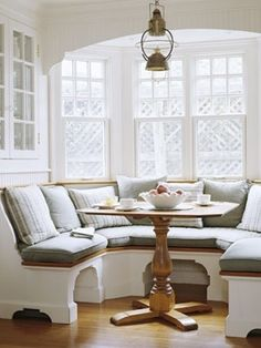 65 Stylish Window Seat Ideas | Banquette seating and Breakfast nooks
