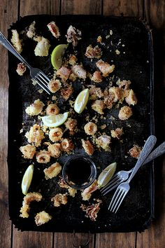 LA COCINA DE BABEL: #cocinacallejera {las rabas de chipirón de Laura}