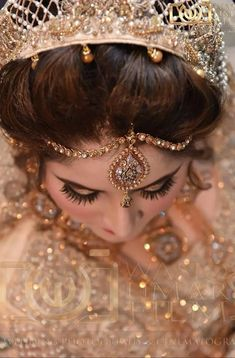 Wedding Dresses For Girls, Girls Dresses, Indian Bridal Fashion, Dimples, Bridal Style, Crown, Jewelry, Brides, Eyes