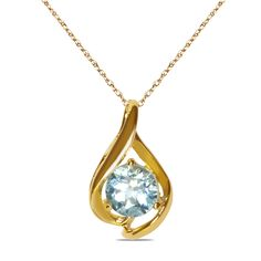 Jet NissoniJewelry presents - Blue Topaz Pendant in 10k Yellow Gold    Model Number:CP-4253Y0BT    https://jet.com/product/Blue-Topaz-Pendant-in-10k-Yellow-Gold/86192903e37e4f1ea1e7d4497ee3983f