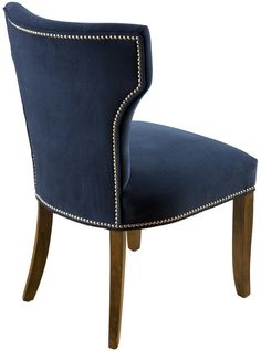 Small Accent Chairs For Bedroom Blue Dining Room Chairs, Farmhouse Table Chairs, Fabric Dining Chairs, Upholstered Dining Chairs, Dining Furniture, Arm Chairs, Accent Chairs, Dressing Table Design, Home Decor
