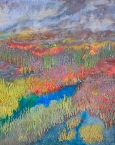 MARSHLAND TWILIGHT 49.5x39 Barbara Lee Smith – The rhythms of nature Part 2