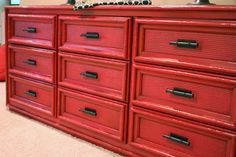 The Yellow Cape Cod: The Red Dresser