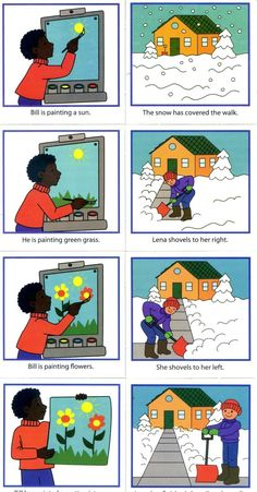 Pintar e limpar a neve Sequencing Pictures, Sequencing Cards, Story Sequencing, Sequencing Activities, Autism Activities, Class Activities, Sequencing Events, Speech Language Therapy, Speech And Language