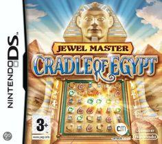Jewel Master: Cradle of Egypt  Jewel Master: Cradle of Egypt is een puzzelspel dat speciaal is ontworpen voor de Nintendo DS. In Jewel Master: Cradle of Egypt is het de bedoeling om het in verval geraakte oude Egypte te herbouwen.