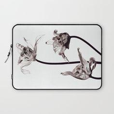 SKULL  X-RAY Laptop Sleeve