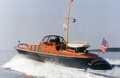 Liberty - Hodgdon Yachts - launched 1997 - a recreation of Aphrodite (1937) by Purdy. The looks of the 30's. The tech of the late 1990's.