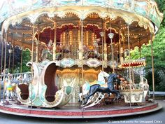 Jordan and Maddie had a blast on this carousel!  Six Beautiful Carousels of Paris - Untapped Paris