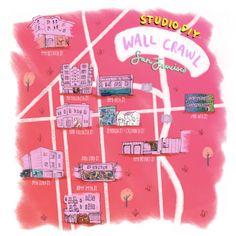 #StudioDIYWallCrawl San Francisco | studiodiy.com