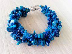 Hey, I found this really awesome Etsy listing at https://www.etsy.com/listing/231525899/lapis-lazuli-bracelet-blue-beaded