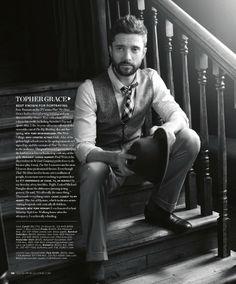 Gregg Hubbard // Topher Grace for Gotham Magazine