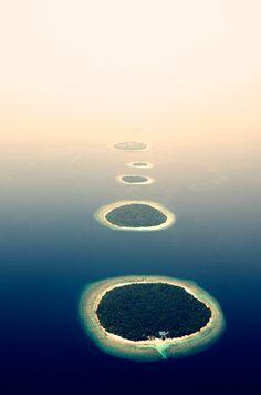 Islands in mist, Neil Walton