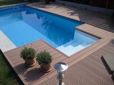 ovalpool in toller holzoptik – ein wunderbarer eyecatcher für, Garten und Bauen