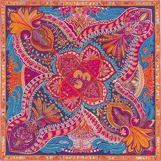 Carré-sjaal 90 x 90 cm Hermès | Le Jardin de la Maharani