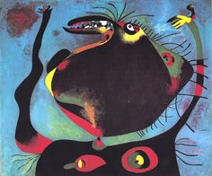 Larger view of joan miro: head of a woman - 1938 surrealismo abstracto, fut Guernica, Spanish Painters, Spanish Artists, Miro Artist, Joan Miro Paintings, Abstract Expressionism, Abstract Art, Popular Paintings, Oil Painting Reproductions