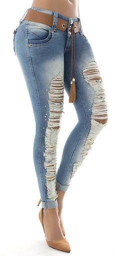 Jeans levanta cola WOW 86158 - Jeans Colombianos