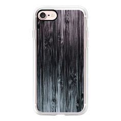 Black To White Grunge Bamboo Pattern - iPhone 7 Case, iPhone 7 Plus... (€36) ❤ liked on Polyvore featuring accessories, tech accessories, iphone case, apple iphone cases, bamboo iphone case, iphone cover case, white iphone case and iphone cases