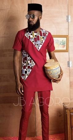 Jbagoro African Wear Styles For Men, African Shirts For Men, African Dresses For Kids, African Attire For Men, African Clothing For Men, Nigerian Men Fashion, African Fashion Ankara, Latest African Fashion Dresses, African Print Fashion