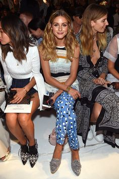 Olivia Palermo attends the Altuzarra fashion show during New York Fashion Week…