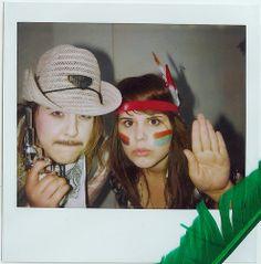 Polaroid - cowboys and Indians
