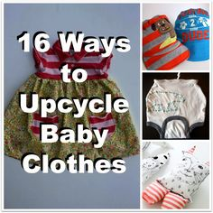 A Time For Seasons: 16 Ways to Upcycle Baby Clothes - Consignment Sale Series