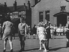 """""""Listen to Britain"""" was a 1942 British propaganda short film (20 mins) by Humphrey Jennings and Stewart McAllister. This Youtube clip shows the whole film.The film was produced by the Crown Film Unit, an organisation within the British Ministry of Information, to support the Allied war effort. The film captures the atmosphere of the period and includes part of a Flanagan and Allen turn and an excerpt from a Myra Hess concert at the National Gallery."""