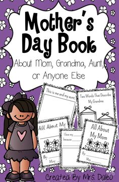 Perfect Mother's Day Gift! Books included for Mom, Grandma, Aunt, and a Blank Version