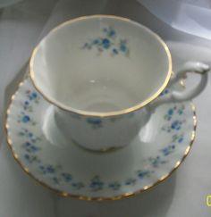 Vintage teacup  Royal Albert Memory Lane teacup  by NewtoUVintage