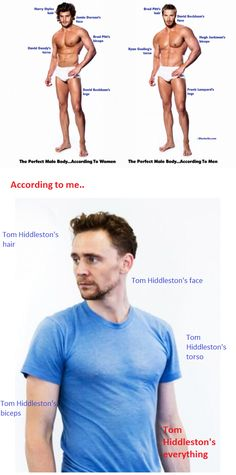 Yes! To Tom Hiddleston's everything!